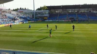 Saputo Stadium, section: 125, row: G, seat: 18
