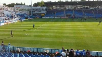 Saputo Stadium, section: 125, row: O, seat: 15