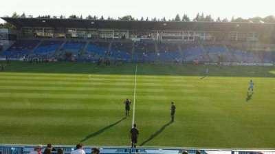 Saputo Stadium, section: 123, row: O, seat: 12