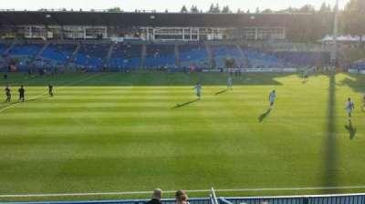 Saputo Stadium, section: 122, row: J, seat: 11