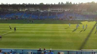 Saputo Stadium, section: 122, row: N, seat: 8