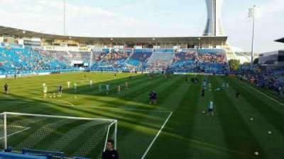 Saputo Stadium, section: 112, row: M, seat: 19