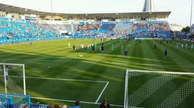 Saputo Stadium, section: 113, row: J, seat: 13