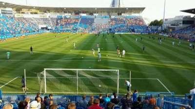 Saputo Stadium, section: 114, row: Q, seat: 10