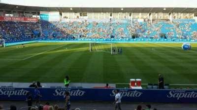 Saputo Stadium, section: 108, row: BB, seat: 11