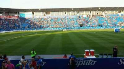Saputo Stadium, section: 108, row: J, seat: 11