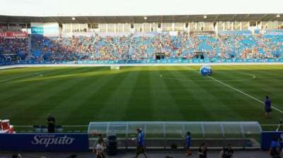 Saputo Stadium, section: 107, row: CC, seat: 7