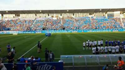 Saputo Stadium, section: 105, row: J, seat: 11