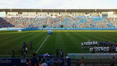 Saputo Stadium, section: 105, row: BB, seat: 14
