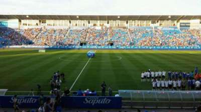 Saputo Stadium, section: 105, row: EE, seat: 14