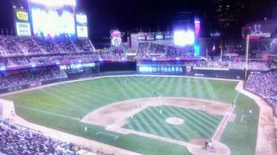 Target Field, section: 218, row: 1, seat: 5