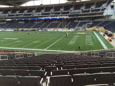 Investors Group Field section 102