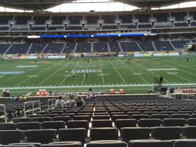 Investors Group Field section 107