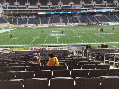 Investors Group Field section 110
