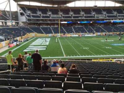 Investors Group Field section 112