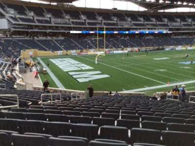 Investors Group Field section 114
