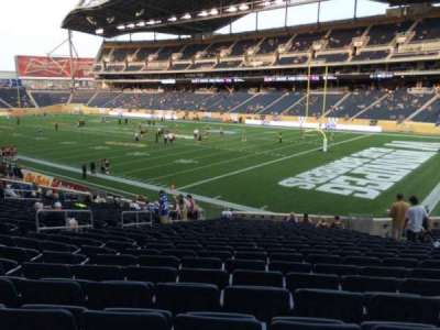 Investors Group Field, section: 123, row: 24, seat: 10