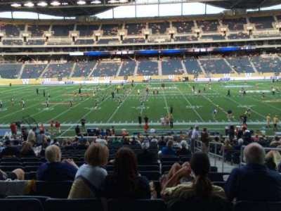 Investors Group Field, section: 130, row: 24, seat: 2