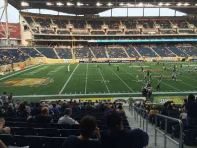 Investors Group Field section 134