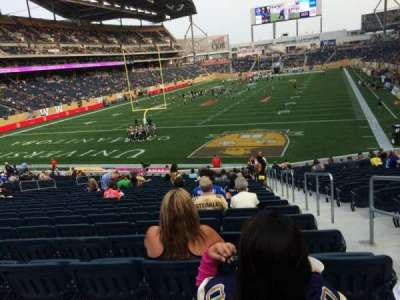 Investors Group Field, section: 139, row: 26, seat: 2