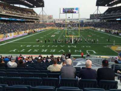 Investors Group Field, section: 141, row: 24, seat: 3