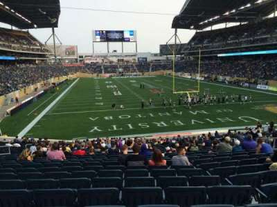 Investors Group Field, section: 142, row: 28, seat: 11