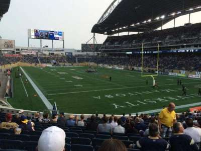 Investors Group Field section 143