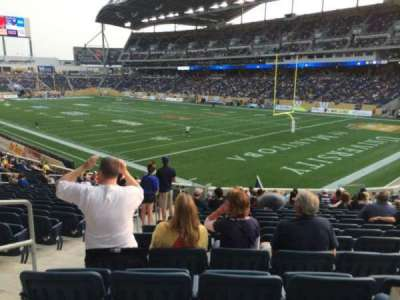 Investors Group Field, section: 144, row: 25, seat: 17