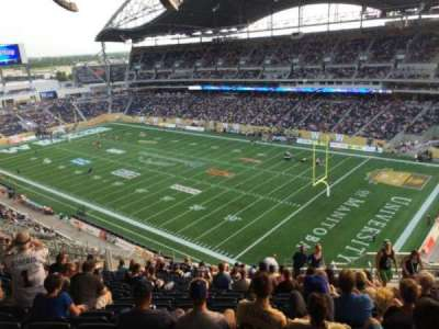 Investors Group Field, section: 202, row: 25, seat: 6