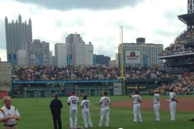 PNC Park, section: 27, row: F, seat: 10
