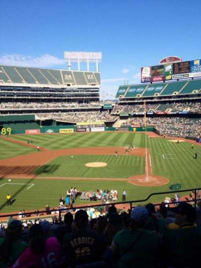 Oakland Alameda Coliseum, section: 220, row: 7, seat: 15