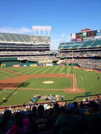 Oakland Alameda Coliseum section 220