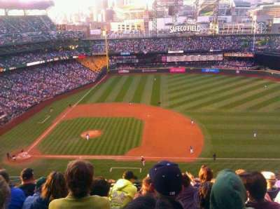 Safeco Field, section: 321, row: 14, seat: 13