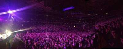Madison Square Garden, section: 116, row: 20, seat: 16
