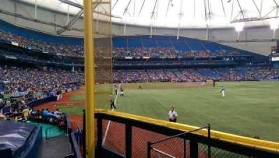 Tropicana Field, section: 140, row: T, seat: 10