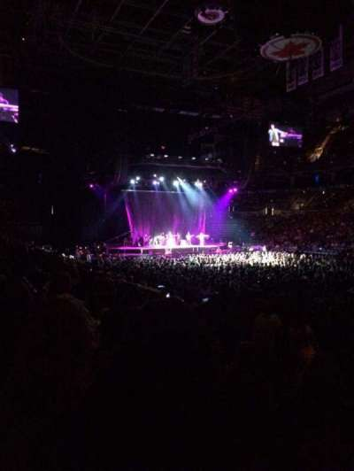 Air Canada Centre, section: 106, row: 11, seat: 4