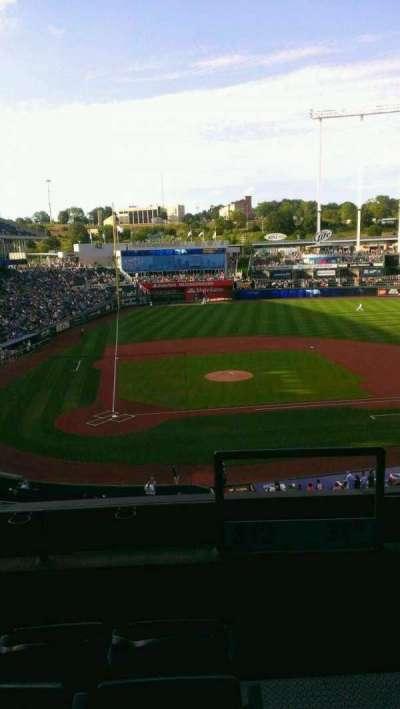 Kauffman Stadium, section: 312, row: D, seat: 17