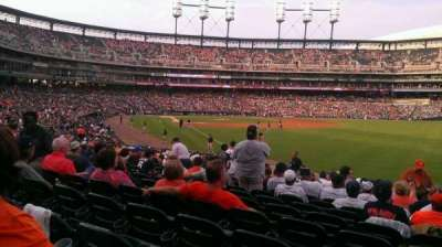 Comerica Park, section: 112, row: 29, seat: 12