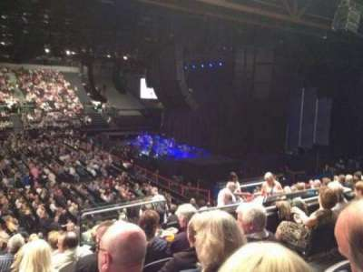 Genting Arena, section: 2, row: R, seat: 36