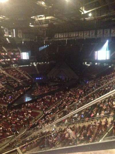 Prudential Center, section: 107, row: 8, seat: 1
