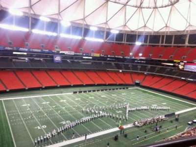 Georgia Dome, section: 326, row: 1, seat: 14