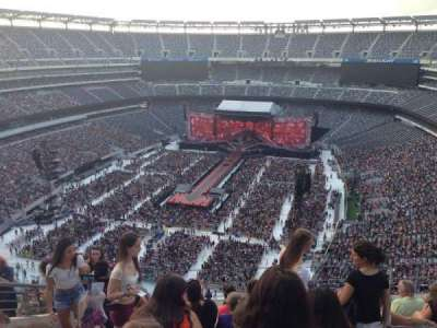 Metlife Stadium Section 323 Home Of New York Jets New