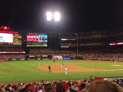 Busch Stadium section 160