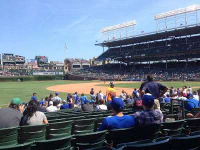 Wrigley Field, section: 109, row: 3, seat: 2