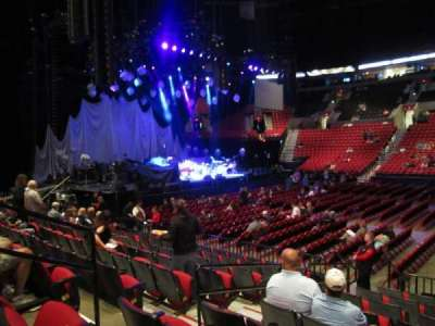 Moda Center, section: 101, row: J, seat: 15