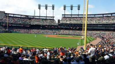 Comerica Park section 145