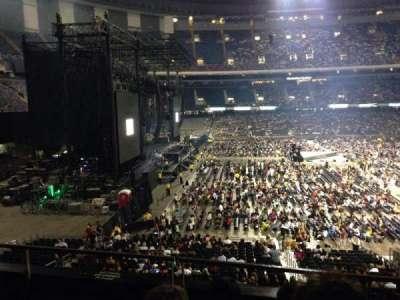 Concert photos at mercedes benz superdome for Mercedes benz superdome layout