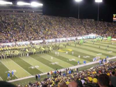 Autzen Stadium, section: 35, row: 51, seat: 16