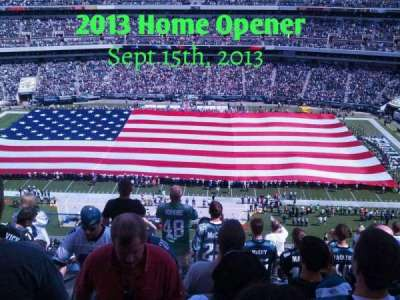 Lincoln Financial Field section 202