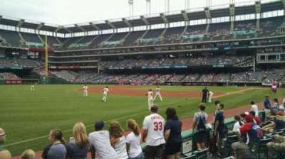 Progressive Field, section: 171, row: 5, seat: 10